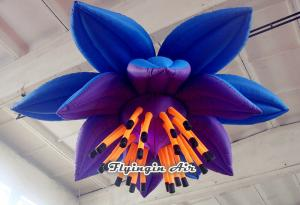 China 3m Hanging Inflatable Flower for Wedding, Party, Concert and Event Decoration on sale