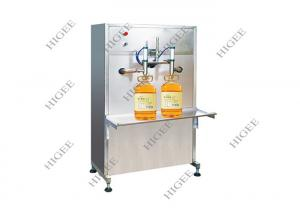 China 500-1500 BPH Olive Oil Bottle Filling Machine , Oil Bottling Machine / Equipment on sale