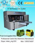 Máquina cortando giratória da caixa de alta velocidade/perfuração automática da caixa da caixa