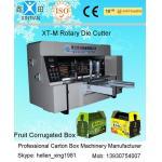 Velocidad ahorro de energía de la máquina de la fabricación del cartón del cartón que corta con tintas de papel