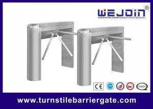 China RFID Card Reader Security Tripod Access Control Turnstile Gate 1 Year Warranty on sale