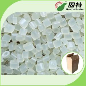 China Yellowish  and semi-transparent Granule High Viscosity Resin Straw  Hot Melt Adhesive Tape White Color Semi Transparent on sale