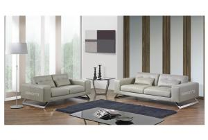 Quality Italian Style Living Room Couches, Brown / Red Sectional Leather  Sofa, Germany Sofa ...