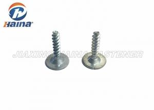 China Metric Pitch Flat Head Machine Screw , Silver Color Countersunk Socket Head Cap Screw on sale