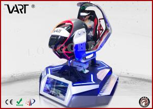 China Real Track VR Racing Simulator With Electric Motion - Based Dynamic Platform / Car Game Machine on sale