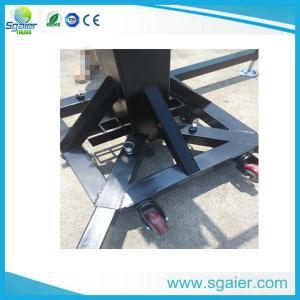 China Sgaier Lighting truss stand,portable lighting truss hand crank on sale