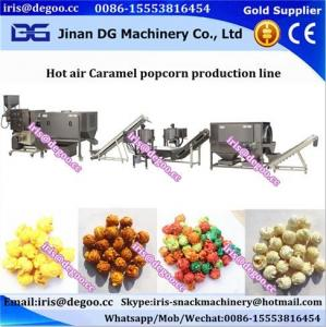 China Electricity hot air popped popcorn industrial making machinery/processing line Jinan DG on sale