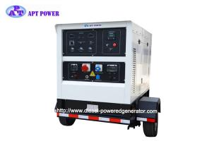 China DC Diesel Welder Generator 500A Silent Type Mobile Emergency Standby on sale