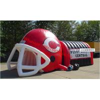 China inflatable american football helmet , inflatable football helmet tunnal on sale