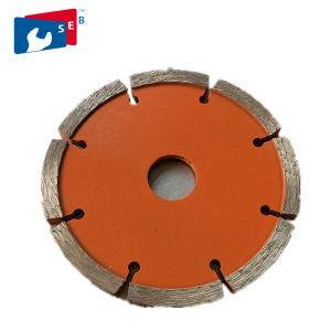 China 115 Mm Tuck Point Diamond Blades Cobalt Powder Painted Color Smooth Cutting on sale
