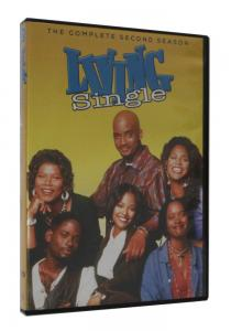 China 2018 newest Living Single Season 2  (3DVD ) Adult TV series Children dvd TV show kids movies hot sell on sale