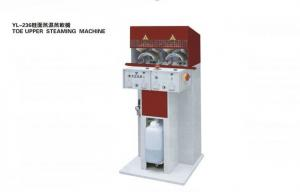 China Electronic Semi-automatic Shoe Making Machine For Steaming Toe Upper on sale