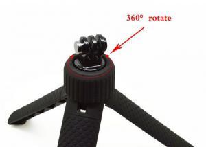 Quality Lot d'accessoires de caméra d'action de poignée de trépied de caméra de sports d'OEM picovolte avec la lanière de vis for sale