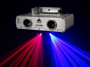 China 2 lens RGY+RGY(Double) 3 Colors DJ Disco Laser Light stage Party Beam Show on sale