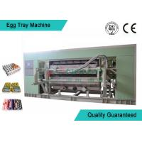 Fully Auto Molded Plastic Tray Making Machine For Egg Tray / Egg Carton / Seeding Cup Production Line