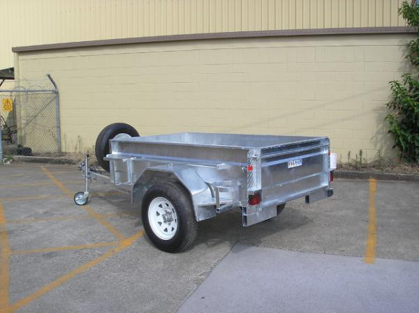 Custom 7x4 Galvanised Off Road Trailer Off Road Atv Trailer With Heavy Duty Axle For Sale Galvanised Off Road Trailer Manufacturer From China 106726633