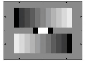 Quality Carta de prueba de la resolución de la lente de la escala gris YE0153 reflexiva for sale