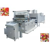 304 Stainless Steel Bubble Gum Production Line Equipment With Pleasant Shape