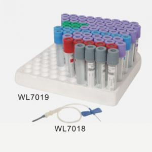 China 1 - 10ml PET, Glass Blood Collection Needle / Vacuum Blood Collection Tube WL7019 and WL7018 on sale