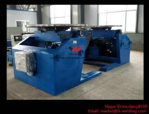 China 10000Kg Standard Pipe Welding Turntable Positioner For Petro-Chemical Industry on sale