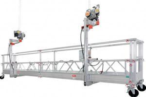 China Single pedal Aerial Platform / Temporarily suspended platform cradle 400kgs 6 - 7m/min on sale