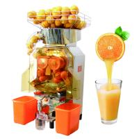 Food-grade stainless Steel Body Commerical Automatic Orange Juicer Machine