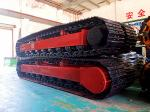 high quality drilling rig track undercarriage assembly manufacturer (steel crawler undercarriage)