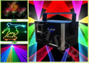 China Disco Christmas Party Fantastic 1.2 Watt Analog RGB Laser Light With SD Card on sale