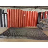 China Size Customized Expanded Metal Mesh Anti Ski Steel Diamond Mesh For Walkway on sale