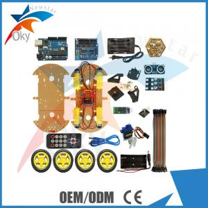 China Ultrasonic Module Remote Control Robot Car for Arduino Starters on sale