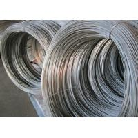 Small Gardening Hot Dipped Galvanized Wire , Galvanized Metal Wire 5kg / Coil