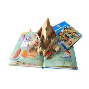 China Custom Pop Up 3d  Children Books Printing Service Activity Kid Photo Book Printed on sale