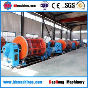 China Varnish Insulated Wire Cable Twister Machine Rigid Stranding Machine Frame Type on sale