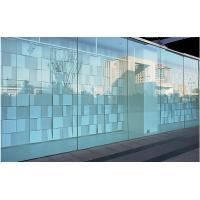 Commercial Tempered Decorative Glass Wall Panels Curved For Window , Sightseeing Lift