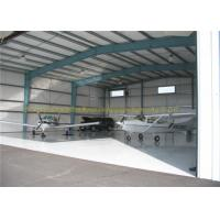 GB JIS Steel Airplane Hangars Prefab Aircraft Hangars Q235B Q345B