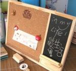 Magnetic Whiteboard Cork Board Combination Eye - Catching Design