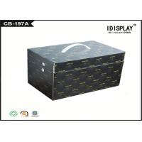 Black Corrugated Cardboard Gift Boxes Handmade For Electronic Cigarette