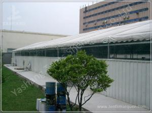 China Sliding Gate Industrial Large Storage Tents , Temporary Tent Structures on sale
