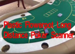 China Plastic Flowerpot Long Distance Poker Scanner For Reading Playing Cards Edge Barcodes on sale