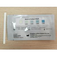 Highly Sensitive One Step Drug Screen Test Card / Strip For Saliva Alcohol