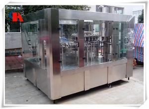 China PLC Control PET Bottle Filling Machine , Liquid Bottle Filling Machine High Accuracy on sale