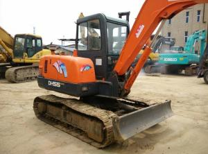 China USED DOOSAN MINI DH55 EXCAVATOR FOR SALE,USED MINI EXCAVATOR FOR SALE on sale