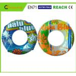 China Light Weight Swimming Pool Rings Eco Friendly PVC Material For Kids Playing wholesale