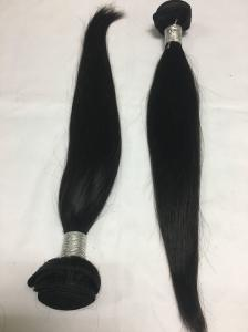 China 8a grade brazilian hair 100% virgin real human hair extensions straight human hair weft on sale