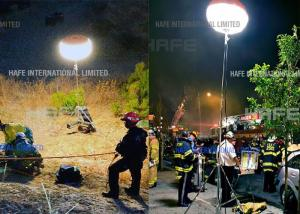 China Quickly Setup Led Emergency Lights 400W 1000W For Fire Services , Search & Rescue on sale