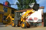 China 76kw Heavy Construction Machinery , 2500kg Medium backhoe loader with 1m³ bucket wholesale