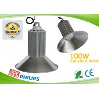 China PF0.98 100w Led High Bay Lights CE ROHS Aluminum Heat Sink With Copper Pipe on sale