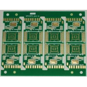 China Multilayer Rigid PCB Board With BGA , Immersion Gold 10 Layers on sale