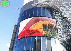 China high definition outdoor p6 full color led outdoor wall for advertising on sale