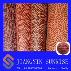 China Basketball Soccer Ball PVC Artificial Leather Fabric Wear Resistant on sale